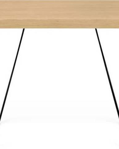 Stůl s černými nohami TemaHome Multi, 160 x 77 cm