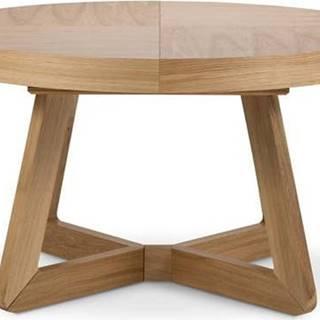 Rozkládací stůl s nohami z dubového dřeva Windsor & Co Sofas Bodil, ø130cm