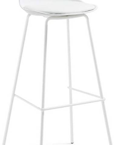 Bílá barová židle La Forma Lysna