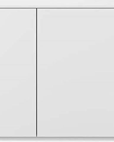 Bílá komoda s dvířky TemaHome Join, 120 x 84 cm