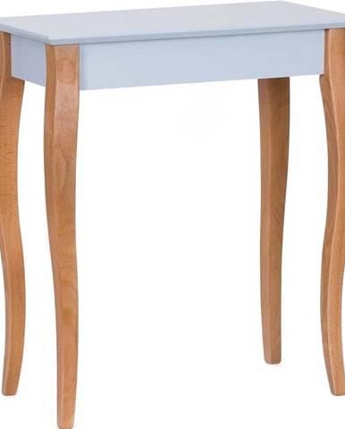 Světle šedý konzolový odkládací stolek Ragaba Console,délka65cm