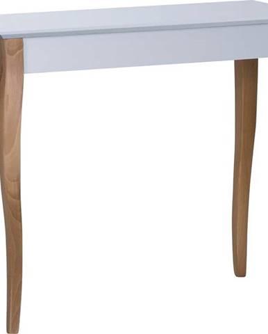 Světle šedý odkládací stolek Ragaba Console,délka85cm
