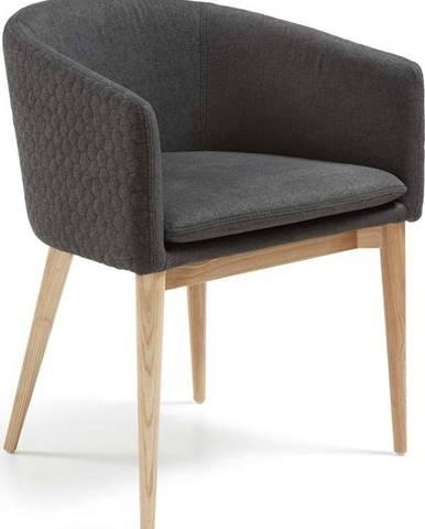 Tmavě šedá jídelní židle La Forma Harmon