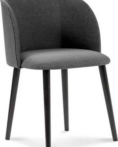 Tmavě šedá jídelní židle Windsor & Co Sofas Antheia