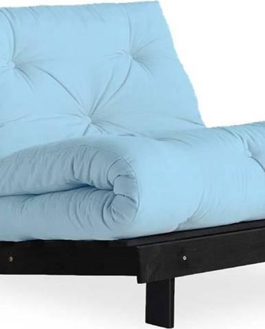Variabilní křeslo Karup Design Roots Black/Light Blue