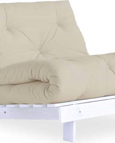 Variabilní křeslo Karup Design Roots White/Beige