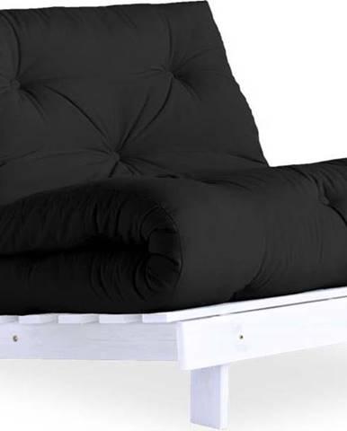 Variabilní křeslo Karup Design Roots White/Dark Grey