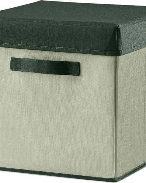 Flexa Zelený úložný box Flexa Room