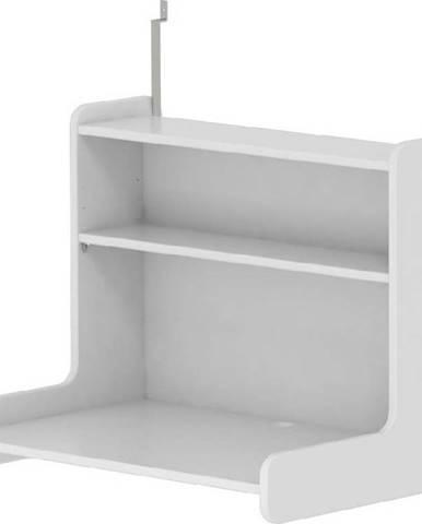 Bílá závěsná polička k dětské posteli Flexa White, délka70cm
