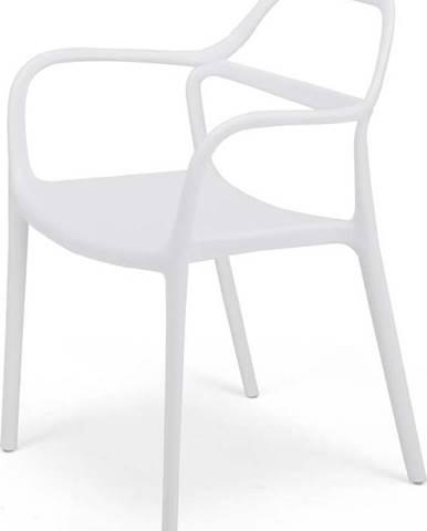 Sada 2 bílých jídelních židlí Le Bonom Dali Chaur
