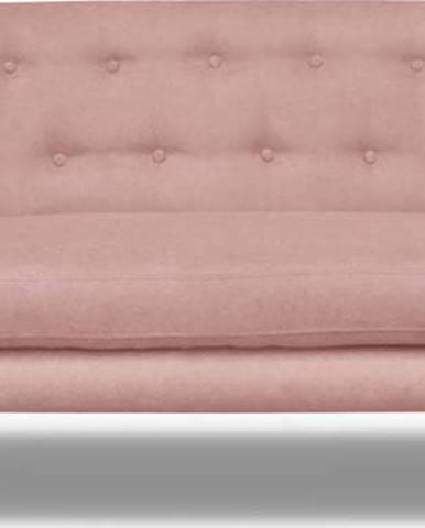 Světle růžová pohovka Cosmopolitan design Hampstead, 162 cm