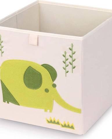 Úložný box Domopak Elephant,27x27cm