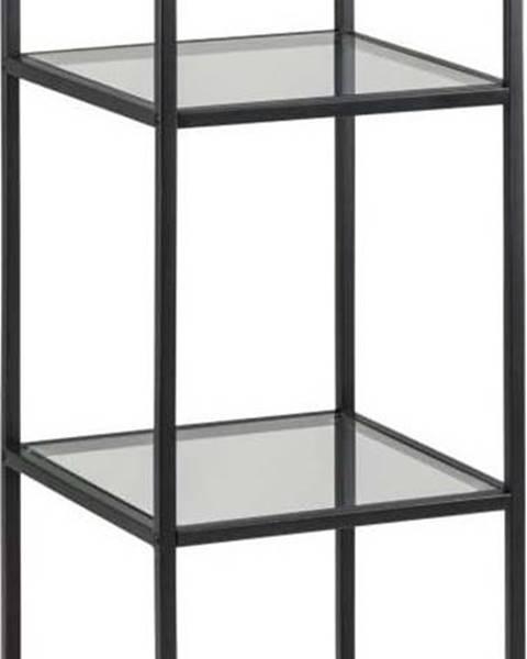 Actona Černý regál Actona Seaford, 35 x 119,5 cm