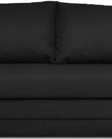 Černá rozkládací pohovka Cosmopolitan Design Honolulu