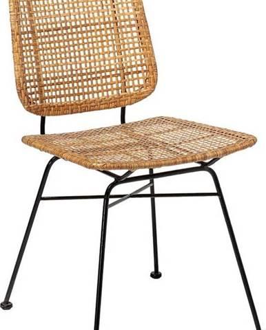 Ratanová jídelní židle Bloomingville Laurel