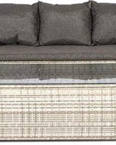 Set šedého zahradního nábytku Le Bonom Dion