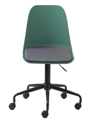 Zelená kancelářská židle Unique Furniture