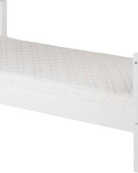 Flexa Bílá dětská postel Flexa White Single, 90x200cm