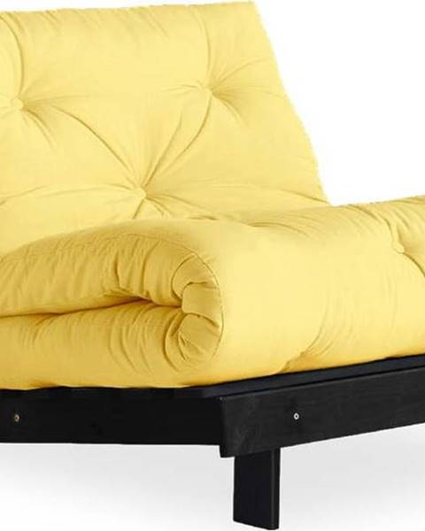 Karup Design Variabilní křeslo Karup Design Roots Black/Yellow