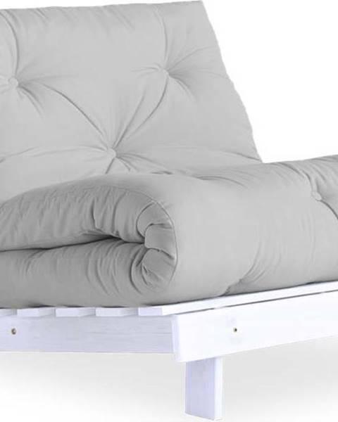 Karup Design Variabilní křeslo Karup Design Roots White/Light Grey