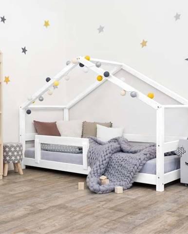Bílá dřevěná dětská postel Benlemi Lucky,90x200cm