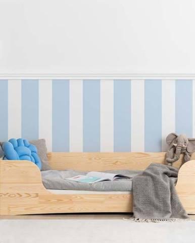 Dětská postel z borovicového dřeva Adeko Pepe Dan,70x160cm