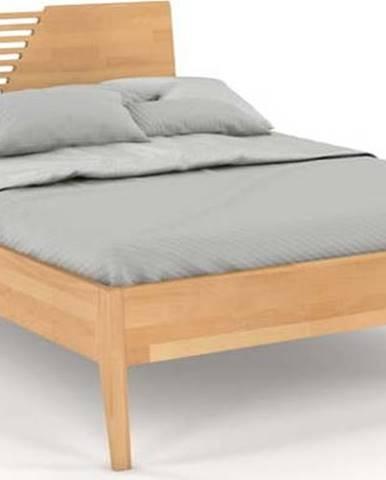 Dvoulůžková postel z bukového dřeva Skandica Visby Wolomin, 140x200cm