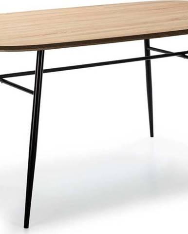 Jídelní stůl s deskou v dekoru dubového dřeva Marckeric Mirta
