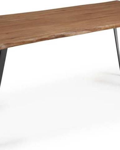 Jídelní stůl s tmavě hnědou deskou La Forma Nack, 180 x 100 cm