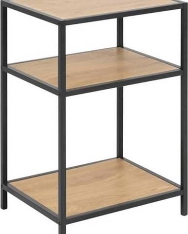 Noční stolek vdekoru divokého dubu Actona Seaford, 42 x 63 cm