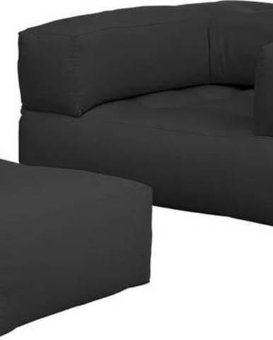 Variabilní křeslo Karup Design Cube Dark Grey