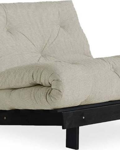 Variabilní křeslo Karup Design Roots Black/Linen Beige