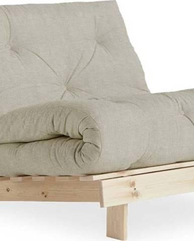 Variabilní křeslo Karup Design Roots Raw/Linen Beige