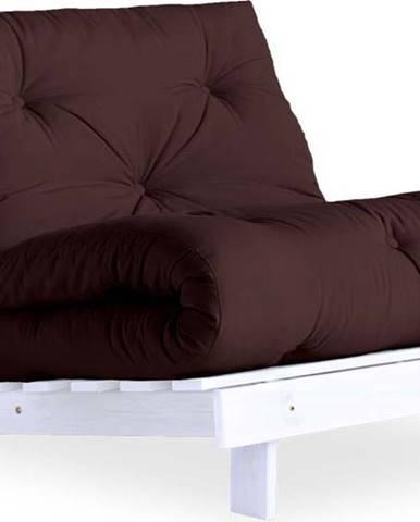 Variabilní křeslo Karup Design Roots White/Brown