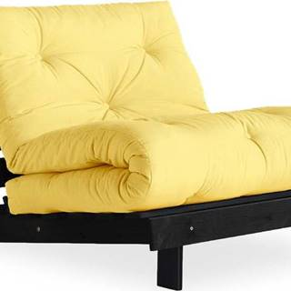 Variabilní křeslo Karup Design Roots Black/Yellow