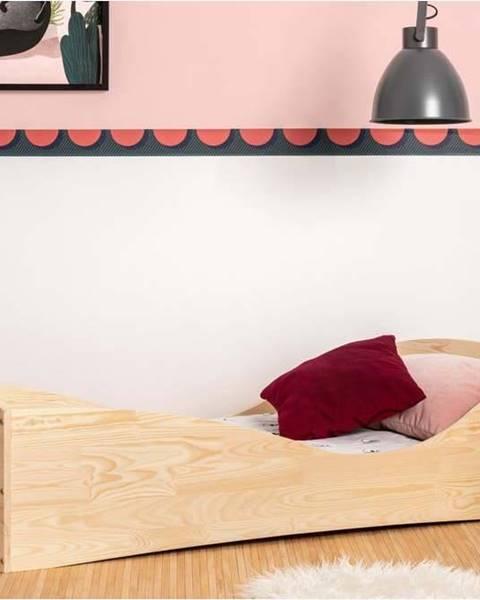 Adeko Dětská postel z borovicového dřeva Adeko Pepe Elk,90x160cm