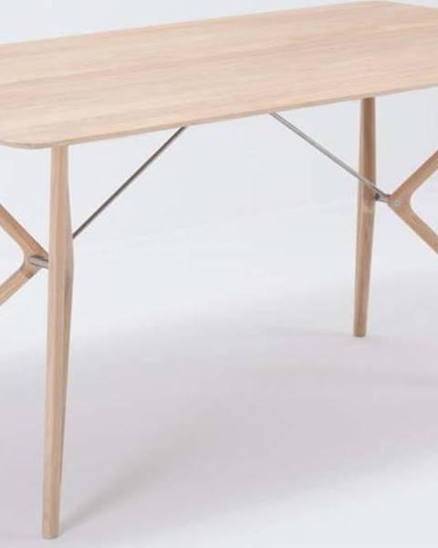 Gazzda Jídelní stůl z masivního dubového dřeva Gazzda Tink, 180x90cm