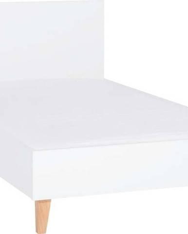 Bílá jednolůžková postel Vox Concept, 120x200cm