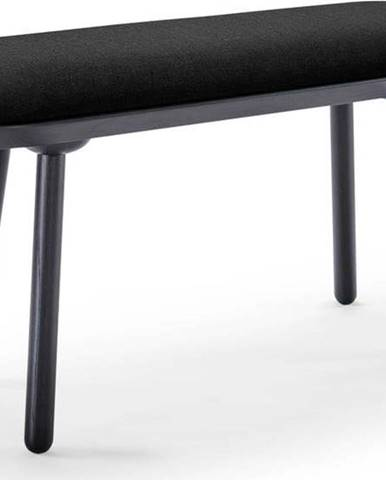 Černá lavice EMKO Naïve,100cm