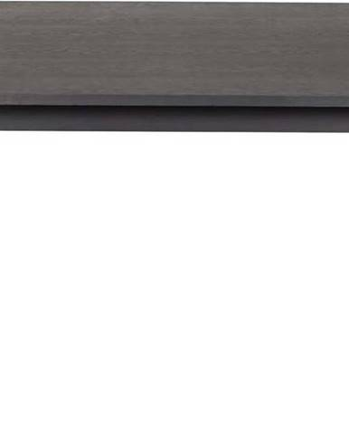 Černý jídelní stůl Woodman Skagen