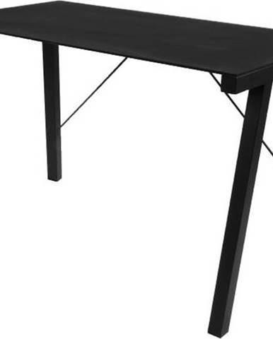 Černý psací stůl Actona Typhoon