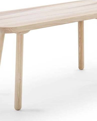 Lavice z jasanového dřeva EMKO Naïve,šířka100cm