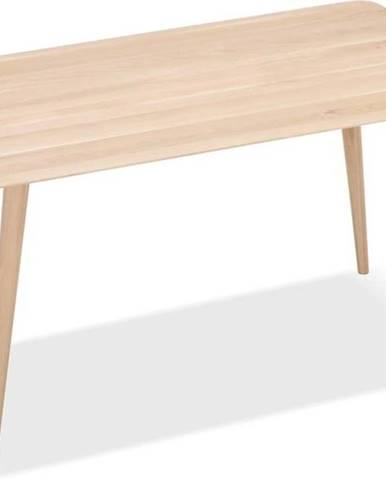 Pracovní stůl z masivního dubového dřeva Gazzda Stafa