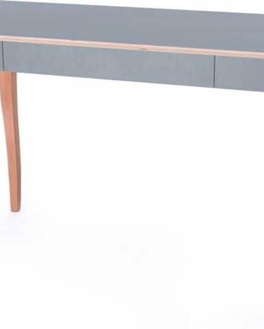 Šedý psací stůl Ragaba ToDo