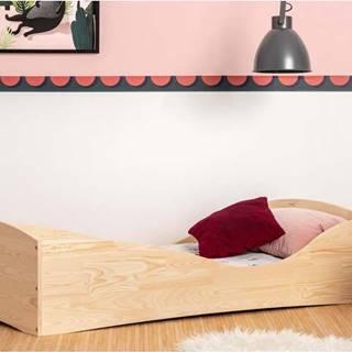 Dětská postel z borovicového dřeva Adeko Pepe Elk,90x160cm