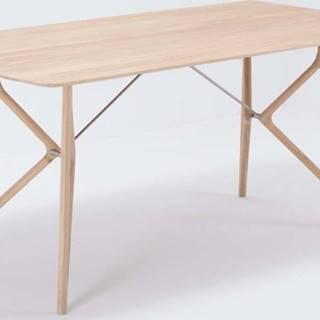 Jídelní stůl z masivního dubového dřeva Gazzda Tink, 180x90cm