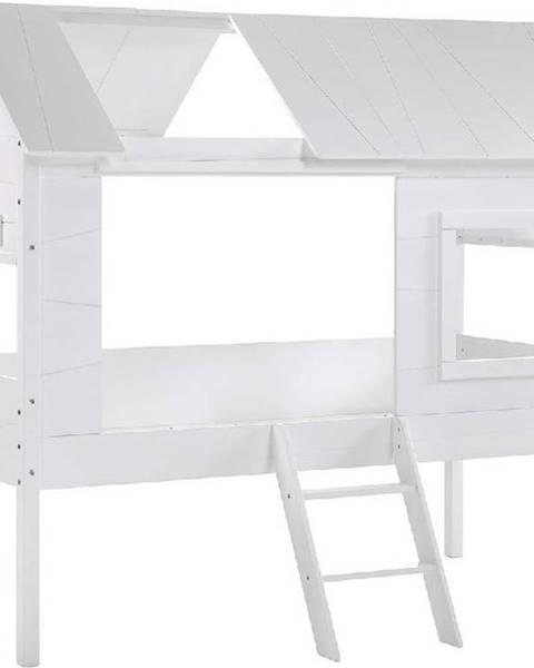 Vipack Bílá dětská domečková postel Vipack Charlotte