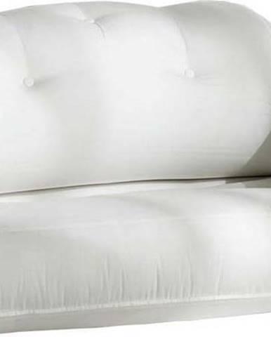 Bílá rozkládací pohovka vhodná doexteriéru Karup Design Design OUT™ Hippo White