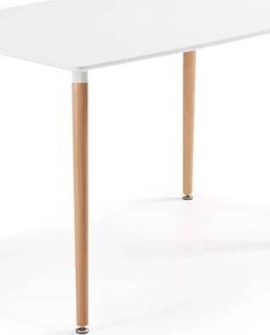 Jídelní stůl z bukového dřeva La Forma Daw, 120 x 75 cm