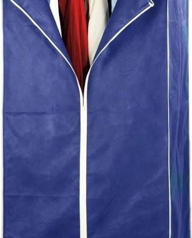 Modrá skládací látková šatní skříň Wenko Air